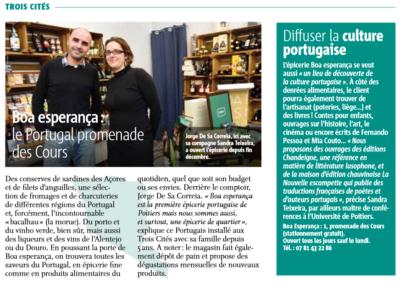 Boa Esperança Poitiers Magazine