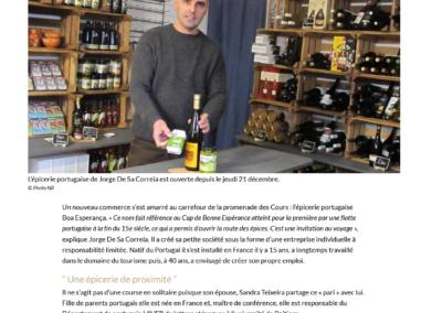 Une épicerie portugaise ouvre à Poitiers
