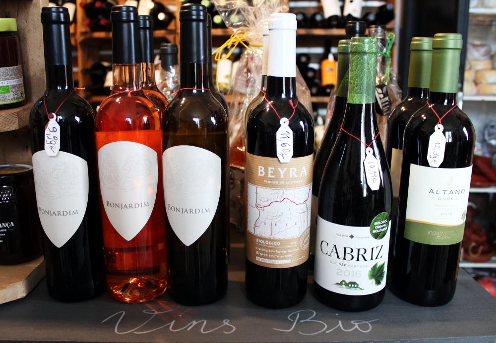 vins bio portugal